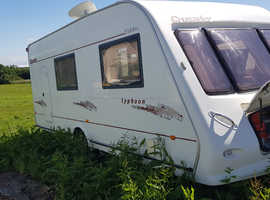 4 berth caravan 2004