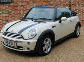 Mini MINI, 2007 (57) White Convertible, Manual Petrol, 69,000 miles