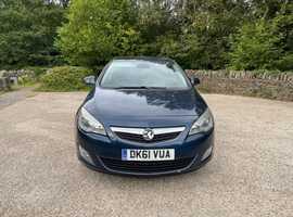 Vauxhall Astra, 2011 (61), Manual Diesel, 151,000 miles