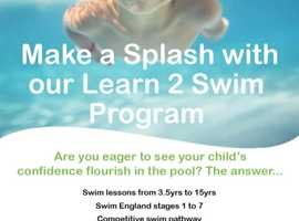 Make a Splash with our Learn to Swim Program in Yateley