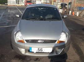 Ford StreetKa, 2006 (56) Silver Convertible, Manual Petrol, 21,000 miles