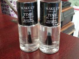 Clear Nail Varnish x 11 bottles - Chatham