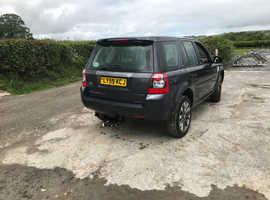 Land Rover Freelander, 2010 (59) Grey Estate, Manual Diesel, 124,500 miles