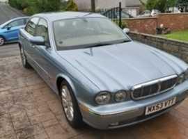 Jaguar Xj6, 2003 5E  Blue Saloon, Automatic Petrol, 96,000 miles