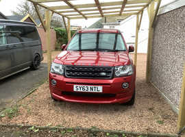 Land Rover Freelander, 2013 (63) Red Estate, Automatic Diesel, 88,000