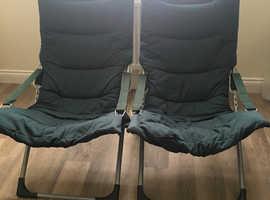 Reclining Garden Chairs (2)