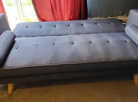 ***FREE***Retro/Modern 3 seater sofa bed