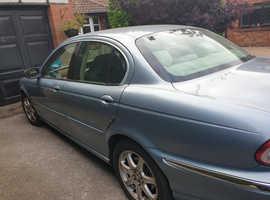 Jaguar X-TYPE, 2003 (03) Blue Saloon, Automatic Petrol, 96,000 miles