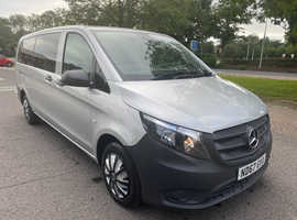 2017 Mercedes-Benz Vito Minibus 114 CDI Pro 9-Seater WITH DISABLED ACCESS COST 32K