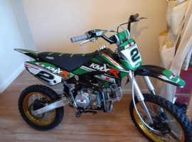M2R KMXR 160 dirt bike limited edition