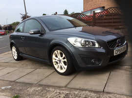 Volvo C30, 2010 (59) Grey Hatchback, Manual Diesel, 132,700 miles
