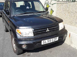 Mitsubishi Shogun Pinin, 2006 (55) Grey Estate, Manual Petrol, 74,000 miles