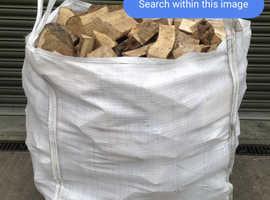 Hardwood seasoned logs for aale
