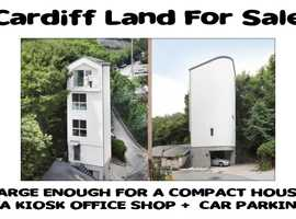 Freehold Plot of Cardiff City Land for Catering Pitch Shop and Glamping Pod