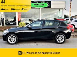 BMW 1 series, 2013 (13) Black Hatchback, Manual Diesel, 44,500 miles