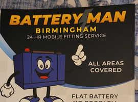 Battery man