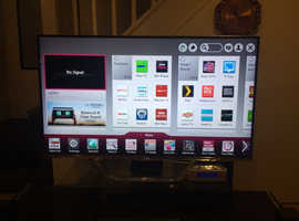 LG LG47LA740V 47INCH SMART CINEMA 3D LED TV MINT CONDITION