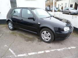 Volkswagen Golf, 2003 (53) Black Hatchback, Manual Petrol, 120,000 miles