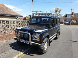 Land Rover 110 DEFENDER TDI, 1996 (P) black Other, Manual Diesel, 187327 miles