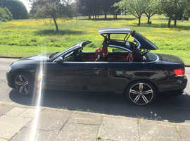 BMW 3 Series, 2007 (07) Black Convertible, Manual Petrol, 65,000 miles