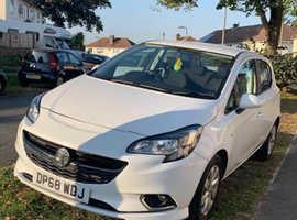 Vauxhall Corsa, 2018 (68) White Hatchback, Manual Petrol, 24,000 miles
