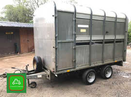 IFOR WILLAIMS DP120 LIVESTOCK TRAILER 10' ALL GOOD LIGHTS BRAKES TYRES TOW AWAY TODAY
