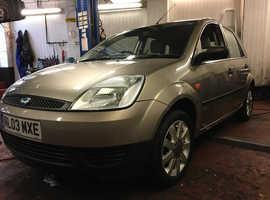 Ford Fiesta, 2003 low mileage 48000 (03) Beige Hatchback, Manual Petrol, 47,902 miles