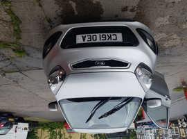 Kia Picanto, 2011 (61) Silver Hatchback, Manual Petrol, 73,000 miles