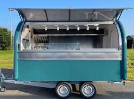 food truck Catering trailer catering van coffee trailer pizza trailer 340cm