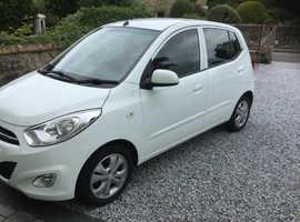 Hyundai i10, 2013 (63) White Hatchback, Manual Petrol, 43,245 miles