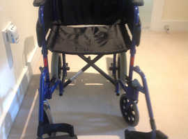 Lightweight Aluminium Wheelchair   Almost new