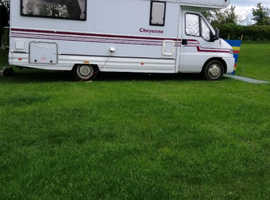 P reg motorhome, well looked after