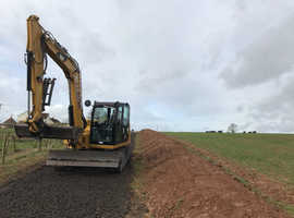 Digger and driver hire  general building