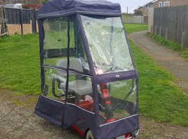 Mobility Scooter With Rain Canopy, can deliver