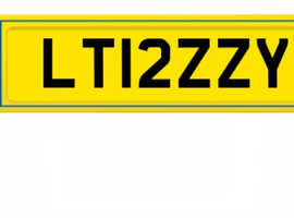 Number plate for sale LT12ZZY