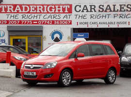 2013/63 Vauxhall Zafira 1.7 CDTi Design Nav [7 Seater] finished in Candy Red. 69,900 miles