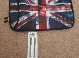 London bag and 2 stylus pens brand new