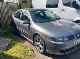 Seat Leon, 2004 (54) Silver Hatchback, Manual Diesel, 135,689 miles