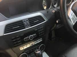 Mercedes C CLASS, 2013 (63) black saloon, Automatic Diesel, 114,924 miles