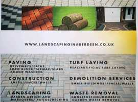 Local Aberdeen landscapers !!!