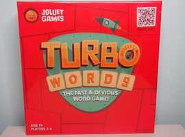 Brand New Turbo Words Board Game