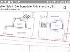 Plot of land in the beautiful Ardnamurchan, Outline Planning permision.