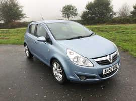 Vauxhall Corsa, 2008 (58) Blue Hatchback, Manual Petrol, 89,000 miles