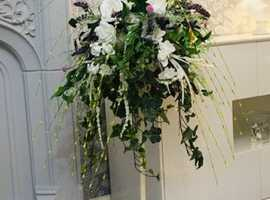 Floor standing flower arrangement