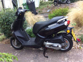 Peugeot Kisbee 2014 100cc scooter / moped