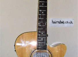 FRESHMAN RENEGADE  Acoustic Elec Folk Guitar. Immaculate
