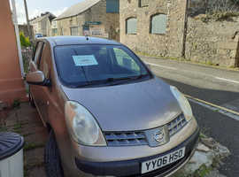 Nissan Note, 2006 (06) Beige MPV, Automatic Petrol, 120 miles