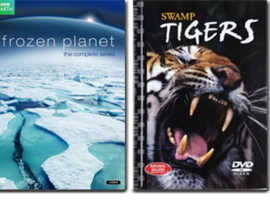 Frozen Planet the complete series plus Swamp Tigers