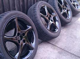 mazda mx5 svt wheels with good tyres