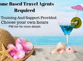 Home Based Travel Agents Required